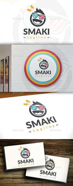 Smart Kid Logo Design Template Vector #logotype Download it here: http://graphicriver.net/item/smart-kid-logo/11395018?s_rank=543?ref=nexion