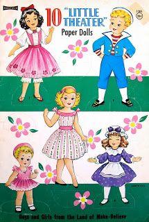 Paper Dolls: 10 Paper Dolls