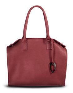 Idole Handbag by Stéphanie Césaire - Créatrice de sacs à main & accessoires - Handbags & accessories designer - in saddle calf cognac