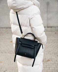 Celine Black Bag, Celine Nano Bag, Celine Belt Bag, Celine Handbags, Black Handbags, Minimal Outfit, Designer Crossbody Bags, Classic Handbags, Black Cross Body Bag