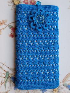 Crochet smartphone case cover for i phone accessoires for