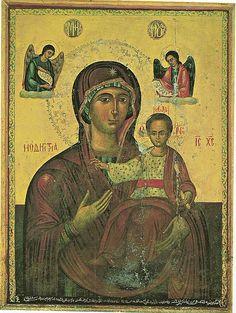 La Virgen Odigitria, Monasterio de Nuestra Señora de Balamand, Kura, Líbano.