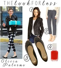 Look for Less: Black and White, Olivia Palermo