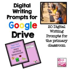 Digital Writing Prompts for Google Drive - MayThis is a set of 20 writing prompts for the month of May. These are meant to be used in Google Drive and shared with your students. Instructions are included. The writing prompts include questions to promote higher order thinking skills.