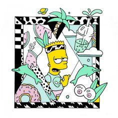 Así habría sido la cultura pop protagonizada por Bart Simpson16