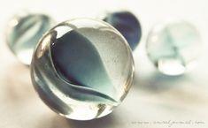 Marbles in macro.