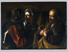 1610 The Denial of Saint Peter by Caravaggio