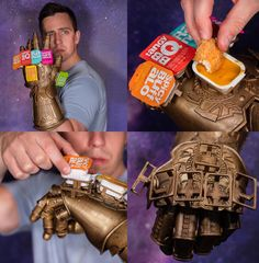 For fun I design fake products, behold The Infinity Saucelet, wield all of your favorite fast food sauces at once. Cover everything in sauce... Whatever it takes