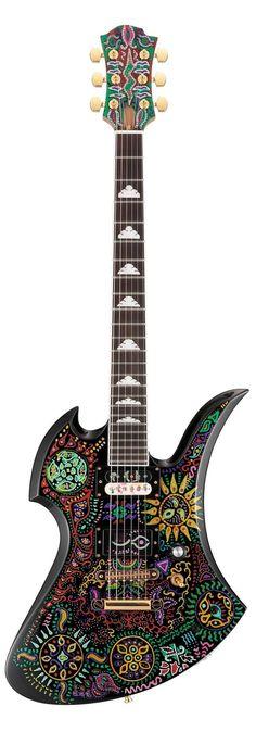 "@metal40_online: 「HIDE -XJAPAN 50th Anniversary Model ""MG-480X""」Fernandes"