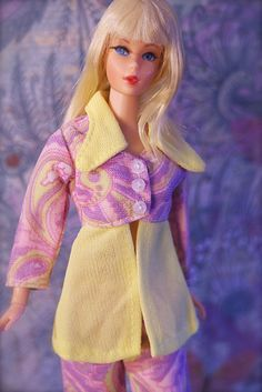 Mod Era Barbie - Vintage Living Barbie - Blonde