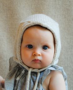 Step-by-step Knitting a Baby Bonnet