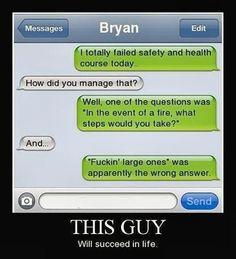 You gotta laugh!