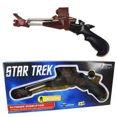 Star Trek III Klingon Disruptor Prop Replica - Diamond Select - Star Trek - Prop Replicas at Entertainment Earth