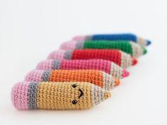Amigurumi color pencil (link to free pattern)
