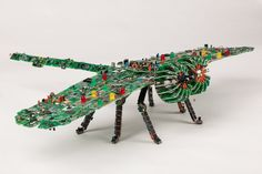 BEST YET Recycled Dragonfly Craft
