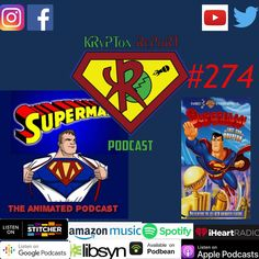 Krypton Report 274 — The Last Sons of Krypton parts 1-2, Superman The Animated Series