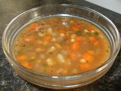 {GREAT NORTHERN BEAN SOUP}
