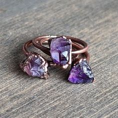 Hey, I found this really awesome Etsy listing at https://www.etsy.com/listing/257489128/raw-amethyst-ring-raw-crystal-ring
