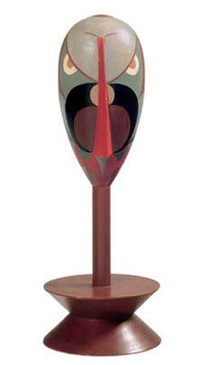 Sophie Taeuber-Arp - Dada-Kopf (Portrait of Hans Arp) 1918 Tristan Tzara, Jean Arp, Davos, Bauhaus, Sophie Taeuber Arp, Dada Artists, Art Informel, Tachisme, Francis Picabia