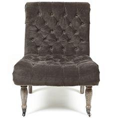 Duchess Warm Grey Accent Chair