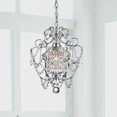 Found it at Wayfair - 1 Light Crystal Chandelier
