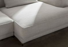 Christian modern sofa, for sophisticated design projects.  #madeinitaly #Berto2014