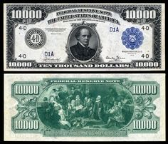 Wondering What To Do With 10000 Dollars - What Should You Do With 10000 Dollars Thousand Dollar Bill, 10000 Dollars, Federal Reserve Note, Vintage Magazine, Money Notes, Rare Coins Worth Money, Coin Worth, Bullion Coins, Old Money