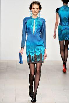 Holly Fulton Fall 2012 Ready-to-Wear
