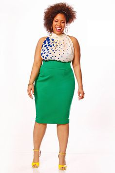 JIBRI Plus Size Sleeveless Iggy Tie Blouse by jibrionline on Etsy, $90.00