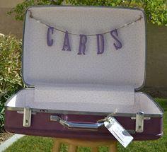 Vintage chic Wedding card case by LULA B <3
