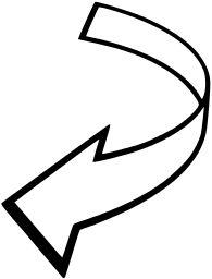 Curved Arrow Clip Art at Clker.com - vector clip art online ...