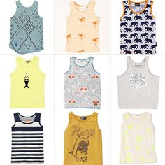 8fae385e1 11 Tank Tops For Your Little Boys of Summer Baby Boy Swag, Baby Boys,