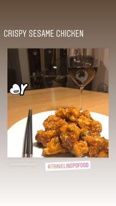 Sesame Chicken, Comfortfood, Tandoori Chicken, Food Hacks, Chicken Wings, Crockpot, Food And Drink, Snacks, Baking