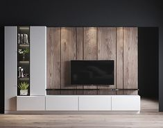 Modern Tv Room, Modern Tv Wall Units, Living Room Modern, Tv Console Modern, Modern Bathroom, Home Room Design, Home Design Decor, Home Interior Design, Living Room Wall Units