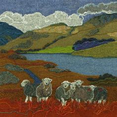 Jane Jackson - Harris Tweed Textile Art, Prints and Greetings Cards