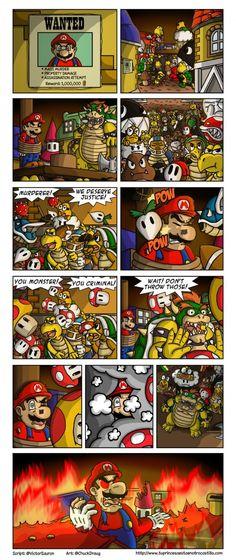 Mario Meets His End