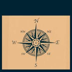 Nautical star/compass