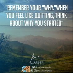 """Remember your """"why.""""When you feel like quitting, think about why you started. #working #founder #startup #money #magazine #moneymaker #startuplife #successful #passion #inspiredaily #hardwork #hardworkpaysoff #desire #motivation #motivational #lifestyle #happiness #entrepreneur #entrepreneurs #entrepreneurship #entrepreneurlife #business #businessman #quoteoftheday #businessowner #businesswoman"""