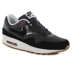Nike Wmns Air Max 1 Shoes - Anthracite/black/club Pink #womens #streetwear