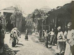 (Մարաշ) y. 1909  Marash-Maraş Maraş kent merkezinden Ermeni esnaf ve tuccar mahallesi