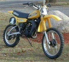 1980- Yamaha YZ125