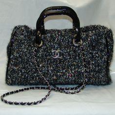 Chanel Knit Handbag image 2
