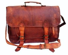 "14"" Inch Men's Genuine Leather Messenger College Macbook Air Pro Laptop Ipad Tablet Briefcase Satchel Bag Jaald http://www.amazon.com/dp/B00PEX4E7I/ref=cm_sw_r_pi_dp_Gnubvb0HA4M0E"