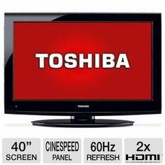 Toshiba 40″ 1080p 60Hz #LCD #HDTV