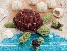 Little Turtles, Eggs and Their Mommy  Published in The Big Book of Little Amigurumi