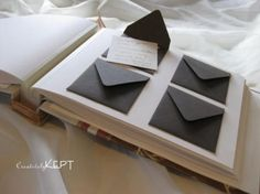 creatively kept guest books on etsy