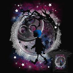 VOTE my Design! #Coraline #moon #buttons #design tshirt
