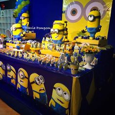 Awesome and cool Minions Party!!!   CatchMyParty.com