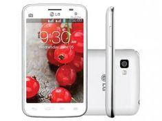 "Smartphone LG Optimus L4 II Dual Chip 3G - Android 4.1 Câm. 3MP Tela 3.8"" Wi-Fi Desbl. TIM"
