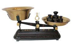 Iron  & Brass Scale
